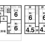 高知市仁井田 中古一戸建 27.50坪 昭和53年築 5LDK 10492 画像1